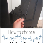 How to choose the right kind of paint (no peeling paint!)