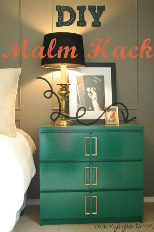 Most awesome ikea dresser hack of all time by Katie from My DIY Habits (guest post)