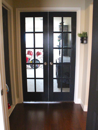 Another game room french doors post