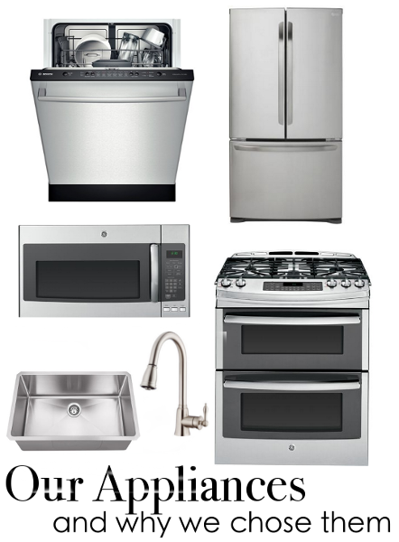 The skinny on all our new kitchen appliances – Bosch, GE, LG, Hahn, Danze