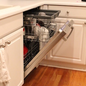 Replacing the dishwasher