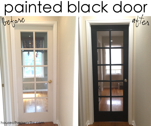 How to paint a door – a time lapse DIY tutorial