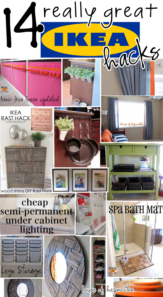 IKEA hacks galore! A roundup of all HOH IKEA hack projects