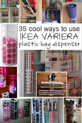 35 uses for IKEA's VARIERA plastic bag dispenser
