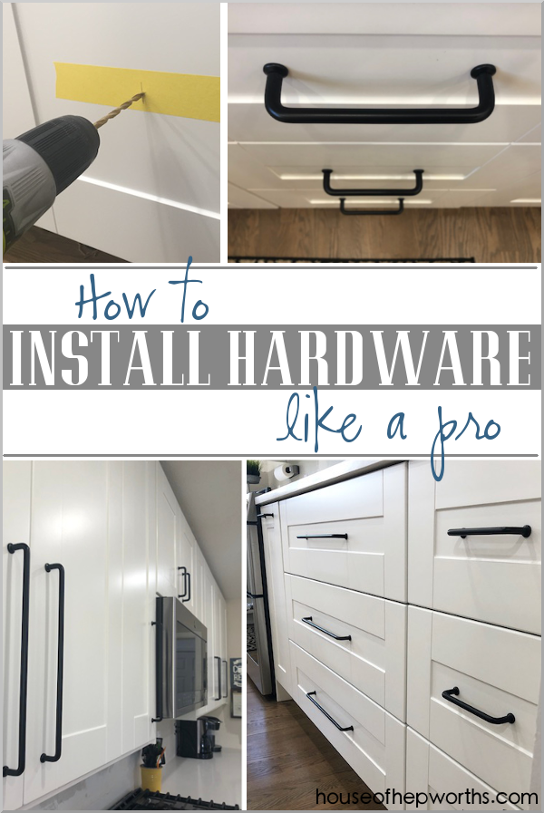 How to install hardware like a pro – IKEA kitchen renovation