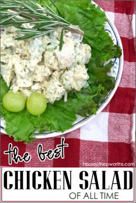 Recipe: The most amazing CHICKEN SALAD!