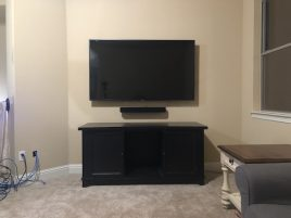 Mounting your TV on the wall, a video tutorial